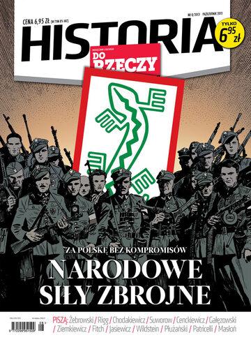 """Okładka miesięcznika """"Historia Do Rzeczy"""" nr 8/2013 (8)"""