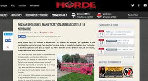 Antifa szykuje burdę w Poznaniu