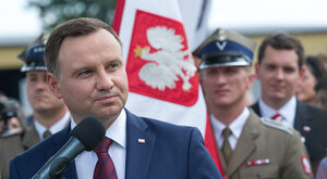Prezydent: Chcę zrobić z Trumpem dobry biznes dla Polski